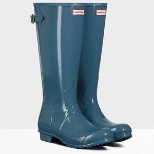 Hunter Teal Rainboots